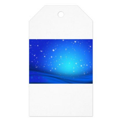Christmas abstract blue stars background gift tags - blue gifts style giftidea diy cyo