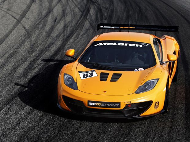 The McLaren MP4 12C GT Sprint Sports A Number Of Chassis And Exterior  Tweaks In