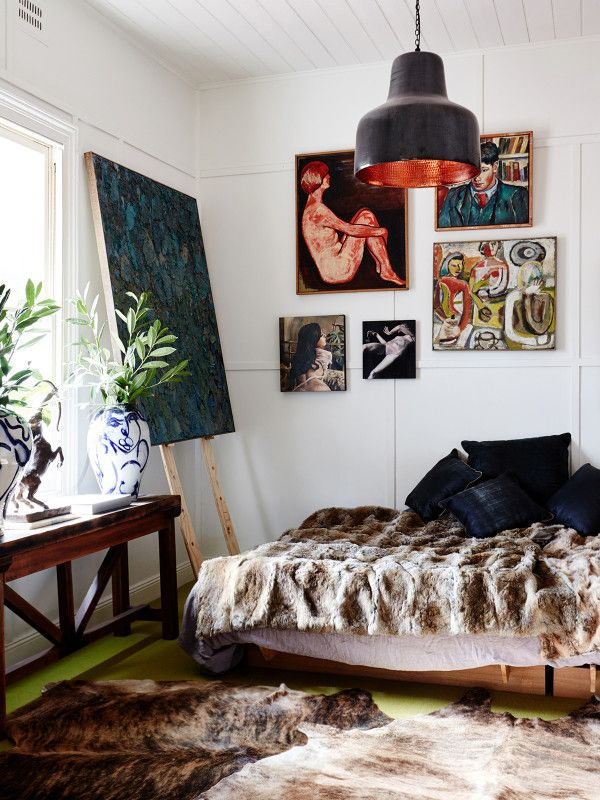 Why stop at a gallery wall when you could curate a whole corner?