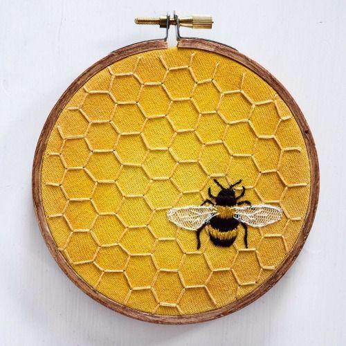 """* Ohnmacht * """"Schatz für die Biene, die du für mich bist"""" von stitchingsabbatical"""