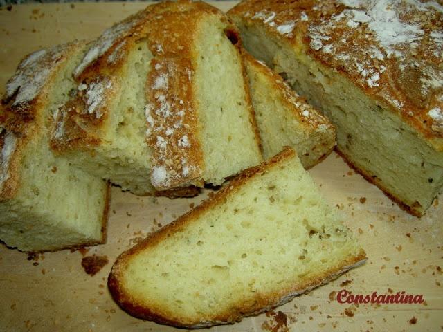 Sabor: Ψωμί (χωρίς ζύμωμα)
