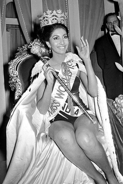 Reita Faria : Miss Bombay 1966 : Miss India 1966 : Miss World 1966