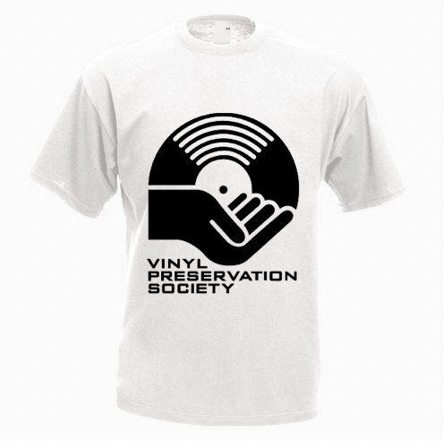 Vinyl Preservation Society T-Shirt - http://goo.gl/awYc40