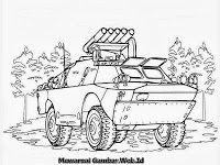 Mewarnai Mobil Tank Amfibi