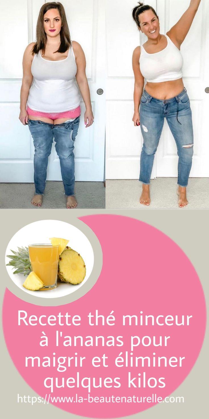 Recette thé minceur à l'ananas pour maigrir et éliminer ...