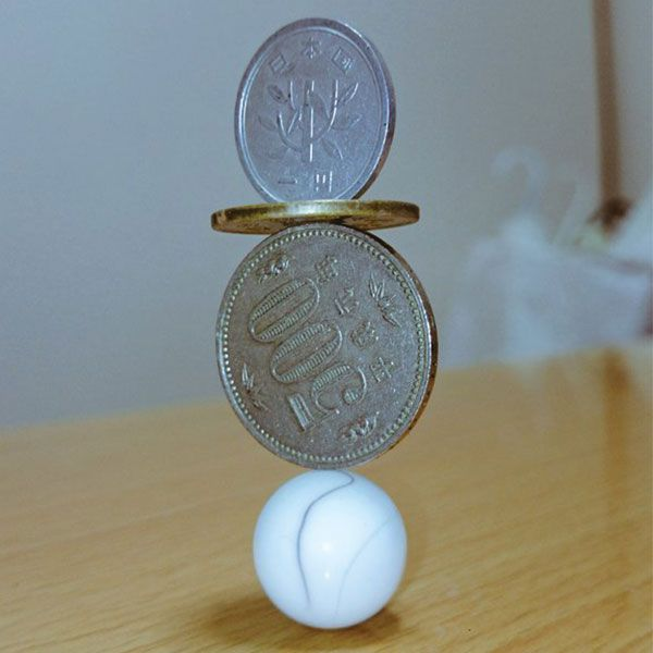 Money Coin Stacking