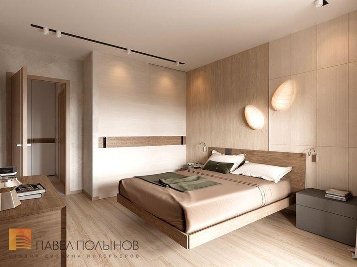 Фото дизайн интерьера спальни из проекта «Дизайн-проект квартиры 72 кв.м., ЖК «Дом на Выборгской», современный стиль»