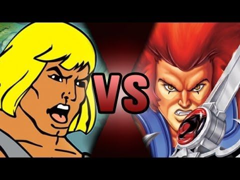 ScrewAttack:Death Battle- He-Man(He-Man & The masters of the universe) Vs Lion-O(Thundercats)