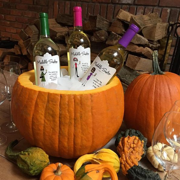 Prepping for Halloween? Don't forget the wine! (And this clever idea for keeping it cool!)  Find Middle Sister wines near you: