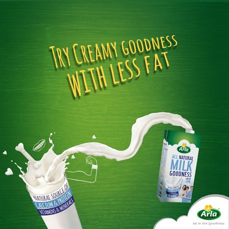 Our Low Fat UHT Milk is very low in fat, which means you will be able to get all the goodness of milk while keeping your diet in check.