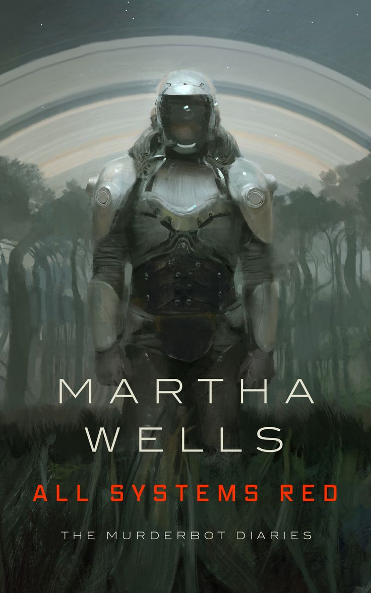 54 best book covers images on pinterest science fiction books all systems red murderbot diaries 1 by martha wells fandeluxe Gallery