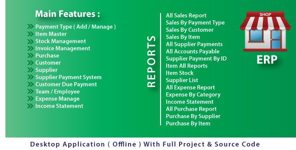 Business ERP | Inventory & Accounting Software With Full Project