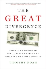 The Great Divergence  America's Growing Inequality Crisis and What We Can Do about It. The Great Divergence is poised to be one of the most talked-about books of 2012, a jump-start to the national conversation about what kind of society we aspire to be in the 21st century: a land of equality, or a city on a hill-with a slum at the bottom.