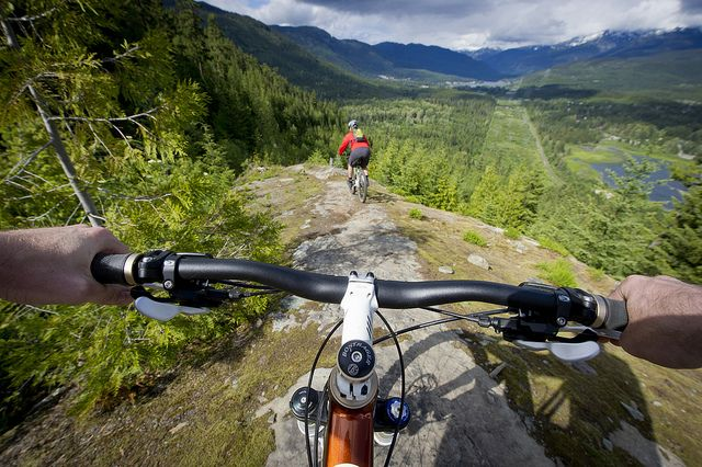 Cross Country Mountain biking by GoWhistler, via Flickr #whistler #whistler biking #robpalmwhistler