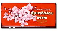 great Greek milk chocolate with almonds