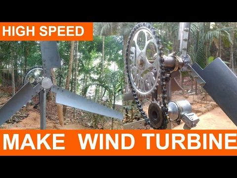DIY Wind Turbine | How to Make Tutorial | Homemade Wind Turbine | Project Guide for Kids - YouTube