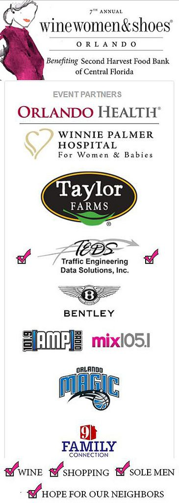 https://flic.kr/p/TLEAx4 | TEDS is a proud sponsor of the 7th Annual Wine Women & Shoes Orlando, benefitting the Second Harvest Food Bank of Central Florida | TEDS is proud to be a generous sponsor of such an impactful and meaningful charity benefiting the Second Harvest Food Bank of Central Florida. A lot of hungry people will be able to eat because the generosity of so many. As a sponsor of Wine Women & Shoes Orlando, we see the difference the community makes when they come together to...