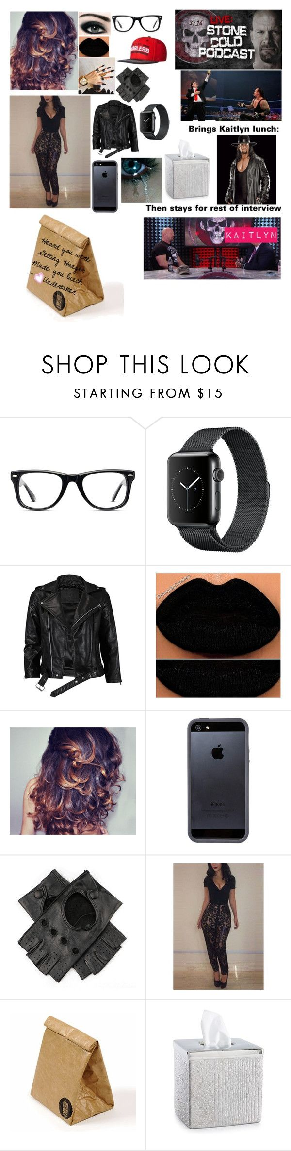 """""""Stone Cold strikes again"""" by kaitlyngilmore ❤ liked on Polyvore featuring WWE, Muse, VIPARO, Max Factor, Tavik Swimwear, Black, Luckies, Sharpie and Croscill"""