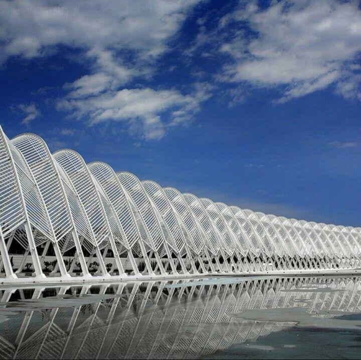 grece olympics como grandes estructuras a partir de planos seriados pueden crear diferentes espacios agradables