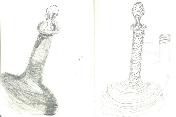Page 3: Tonal and Linear drawings