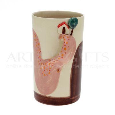 Κούπα Κεραμική Με Χερούλι Σπίτι Δέντρο. Αποκτήστε το online πατώντας στον παρακάτω σύνδεσμο http://www.artistegifts.com/koupa-keramiki-xerouli-spiti-dentro.html