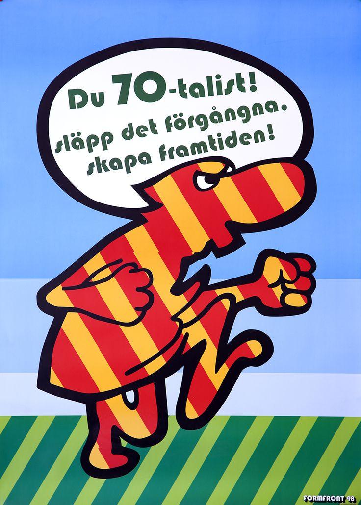 Formfrontaffisch FF9705 av Nille Svensson.