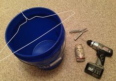 DIY Five Gallon Bucket Mouse Trap   Gentleman Homestead Consulting …