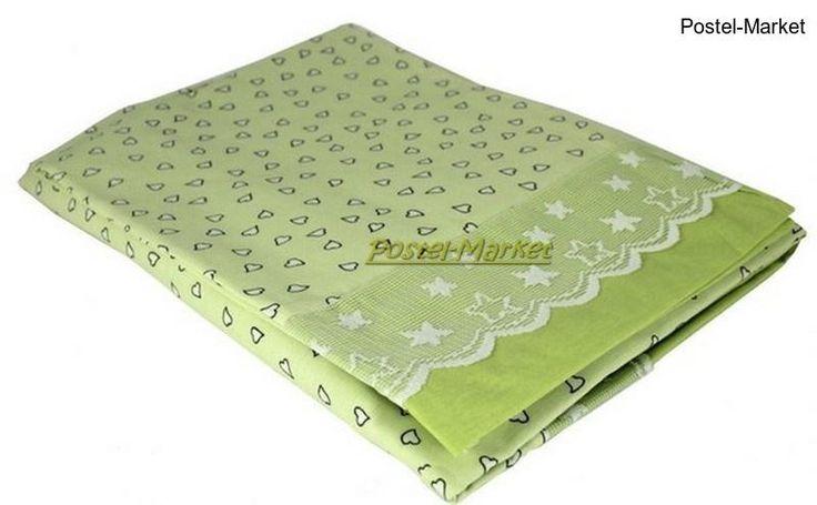 Постельное белье Карапуз Руно бязь в кроватку зеленое купить в интернет магазине Постель Маркет (Киев, Украина)