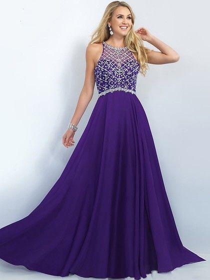 Purple Prom Dresses Sharl Hill