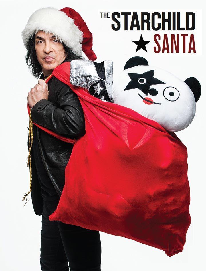 Paul Stanley Starchild Santa