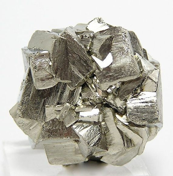 Pyrite Fools Gold Crystals Cluster Flower by FenderMinerals,