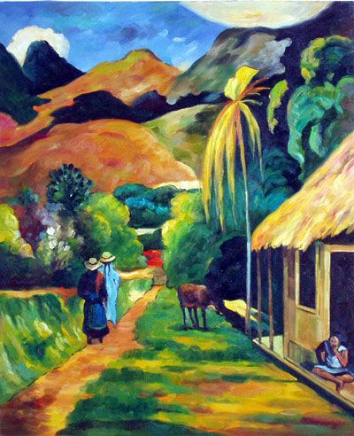 Can you imagine the Womanspace campus transformed into Paul Gauguin's Tahiti for August's Passport to the Arts event?