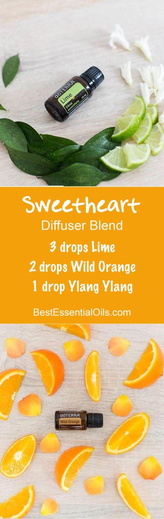 doTERRA Essential Oils Sweetheart Diffuser Blend