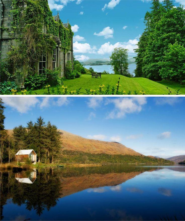 Best Romantic Hotels Scotland: 16 Best The Best Mini-Moon Destinations Images On