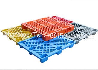 China Pallet 1200*1000 europe hygienic large black used plastic pallets for sale using on warehouse and transport supplier