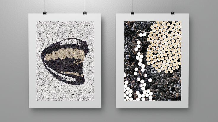 Anti-smoking Ad-shell poster campaign for Finnish cancer Society. These were made with real cigarettes.