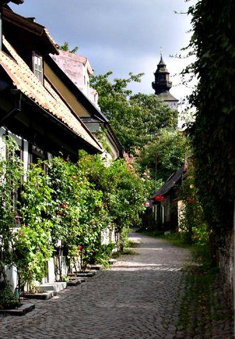 Fiskargränd - Visby, Gotland, Sweden
