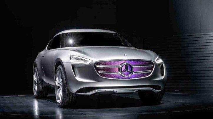 Mercedes Vision G Code Crossover Concept Unveiled