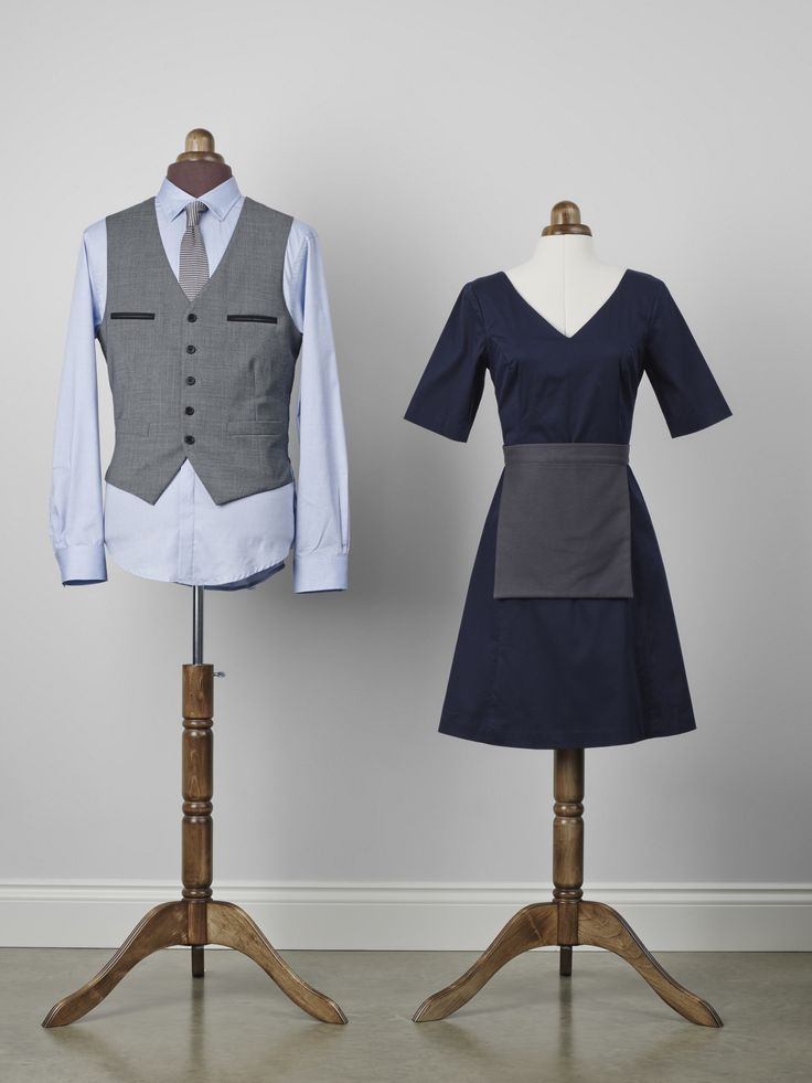 Electric House Notting Hill  uniforms have modern tailoring combined with a mixture of relaxed fabrics such as chambrays, canvases and cotton twills with more structured suiting.