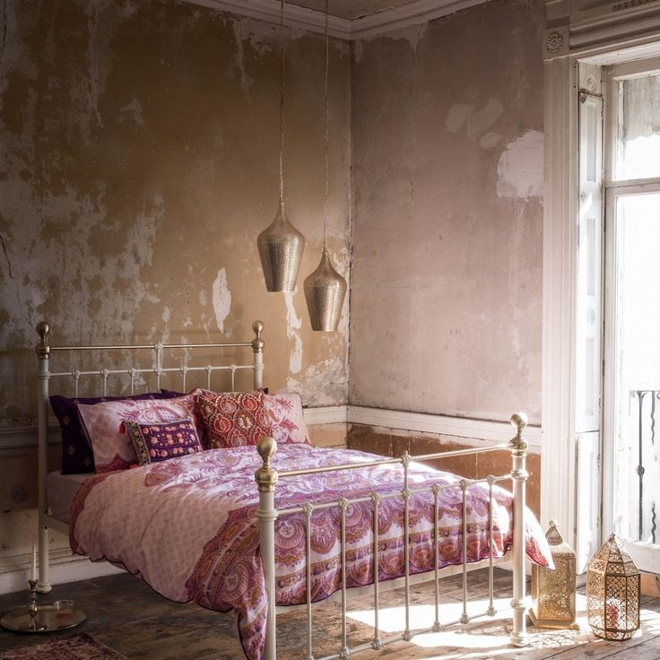 Moroccan inspired pink #bedroom #rustic #romantic #interiors