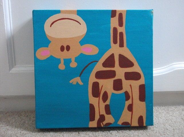 Next baby present I have to give, I'm painting this for someone! | DIY Creator