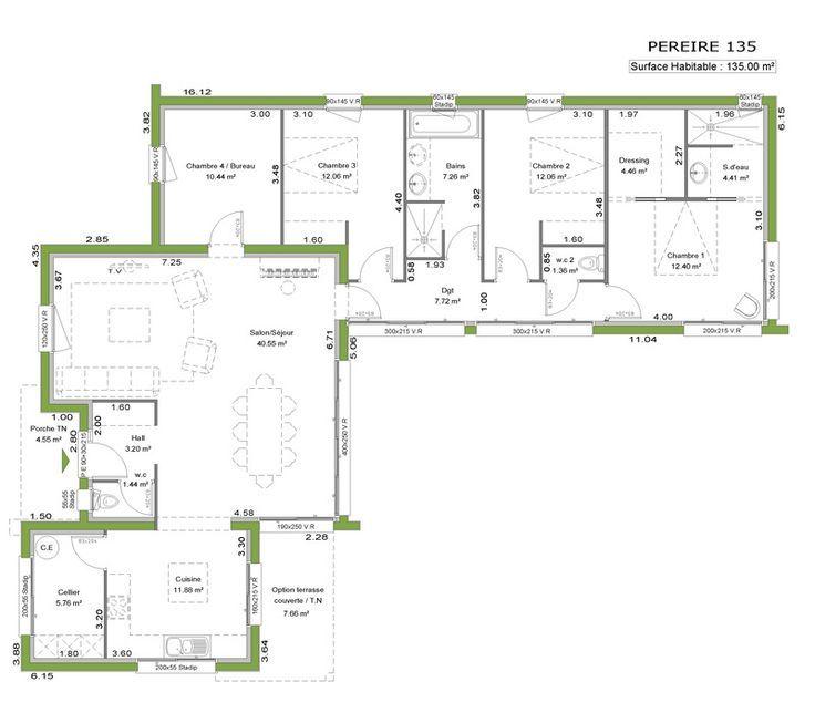 La maison toit plat derni re n e de notre gamme cette for Plan de maison a toit plat