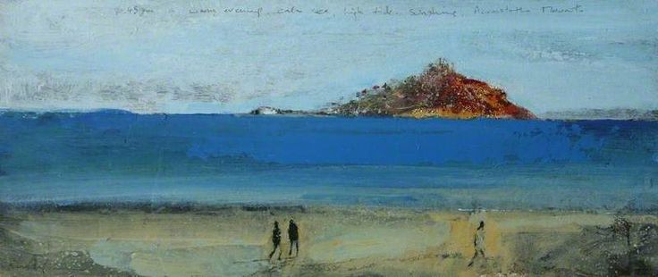 """'ACROSS TO THE MOUNT' by Kurt Jackson: painted c.1999 