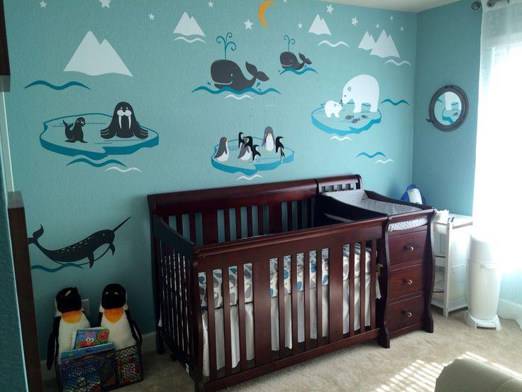 Arctic themed nursery