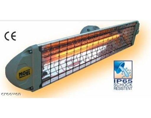 Halogén infrasugárzó G-OLD Fiora 1200 K infrapanel és infrafűtés