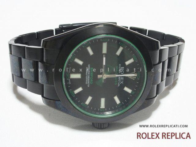 Rolex Milgauss Replica Bamford Pvd Nero