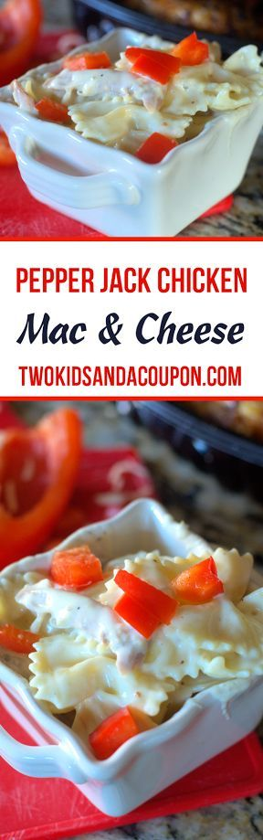 Pepper Jack Chicken Mac And Cheese