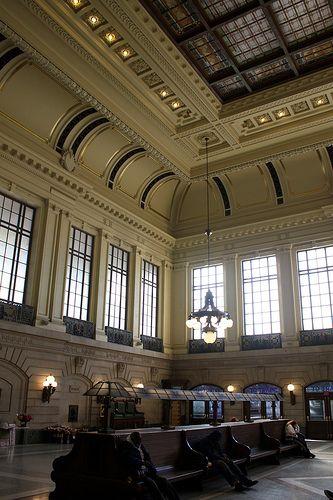 Train Station- New Jersey - Hoboken