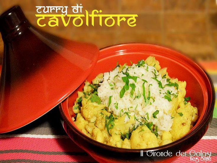 Questa ricetta è davvero fantastica! Il curry di cavolfiore è ideale servito che del riso basmati bianco o con del cous cous!