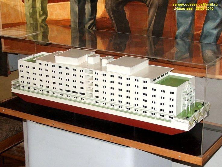Flotel Denmark. Модели гражданских судов — Фотография — Водный ...